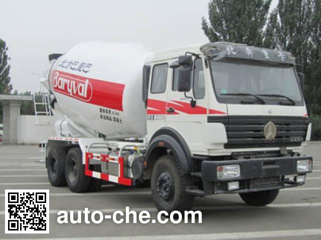 北方重工牌BZ5254GJBNA4混凝土搅拌运输车