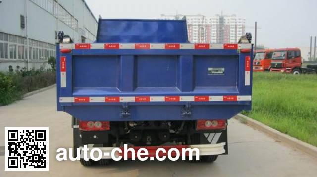 北重电牌BZD3060BJVP-1自卸车