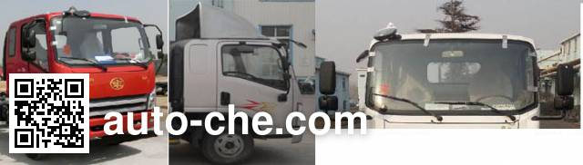 FAW Jiefang CA1044P40K2L1BE5A84 diesel cabover truck chassis