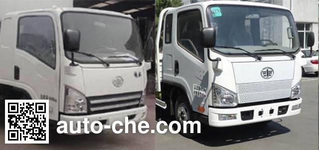 FAW Jiefang CA5083CPYP40K2L1EA85-2 soft top box van truck
