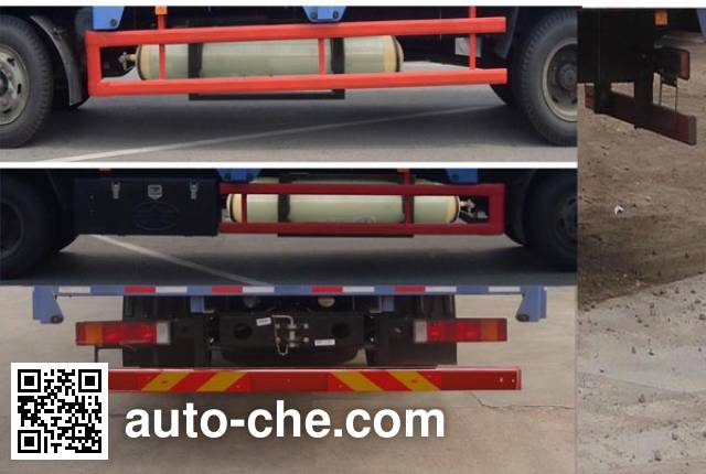 FAW Jiefang CA1167PK2L2NA80 natural gas cabover cargo truck