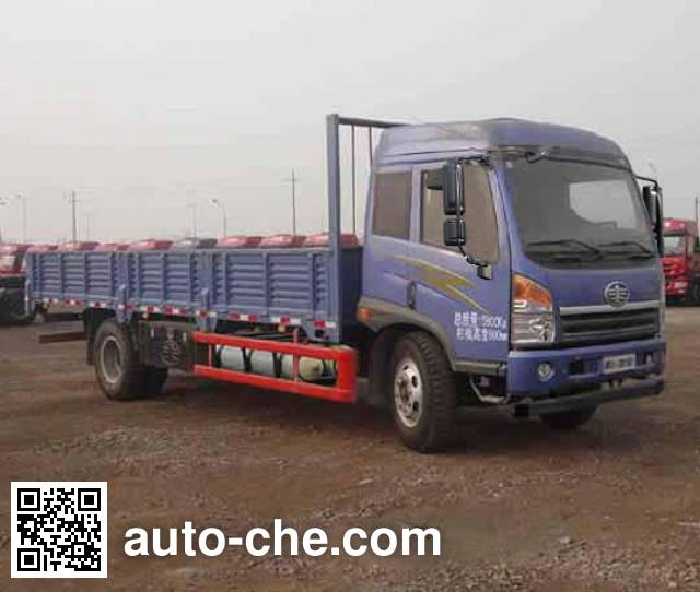 FAW Jiefang CA1148PK15L2NE5A80 natural gas cabover cargo truck