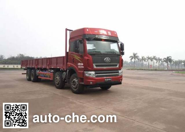 FAW Jiefang CA1313P2K15L7T4NA80 natural gas cabover cargo truck