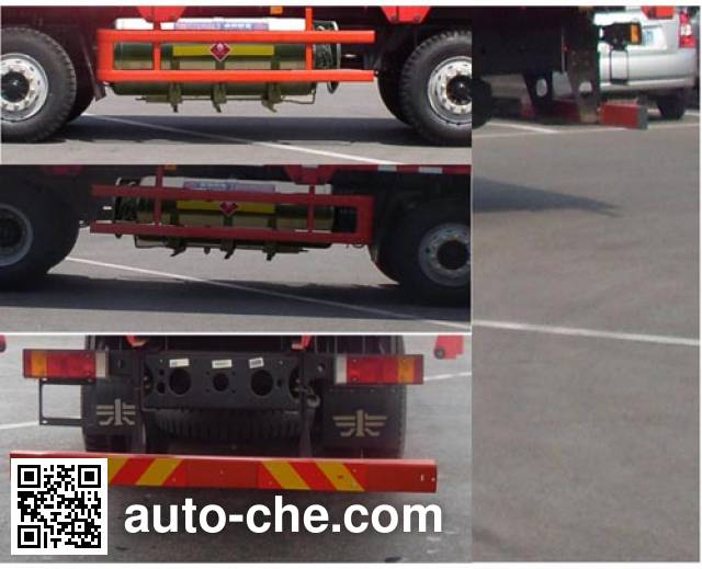 FAW Jiefang CA1313P2K15L7T4NE5A80 natural gas cabover cargo truck
