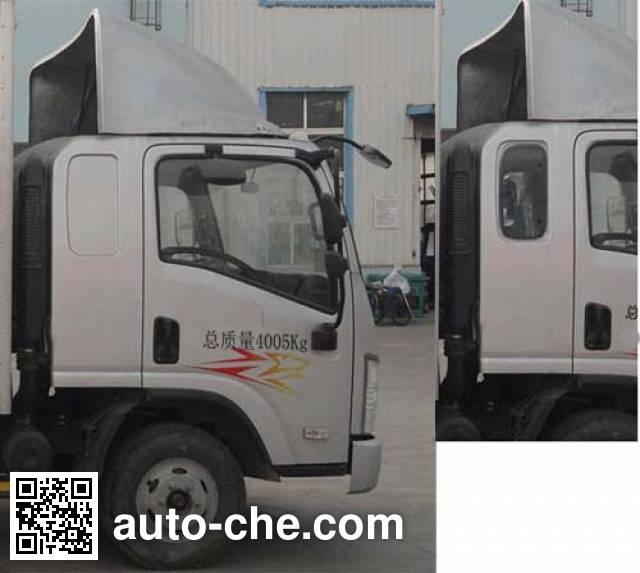 FAW Jiefang CA2041XXYP40K2L1T5E4A84-3 cross-country box van truck