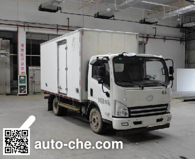 FAW Jiefang CA2041XXYP40K2L1T5E4A84-3 cross-country box van truck