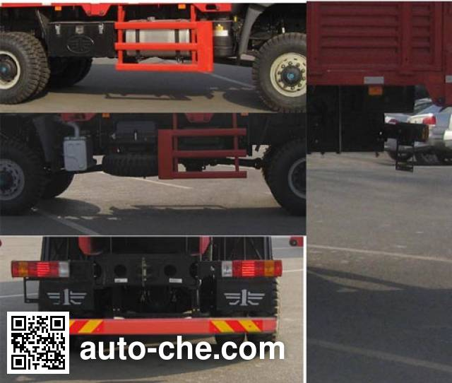 FAW Jiefang CA2250P2K15L2TEA80 diesel cabover off-road cargo truck