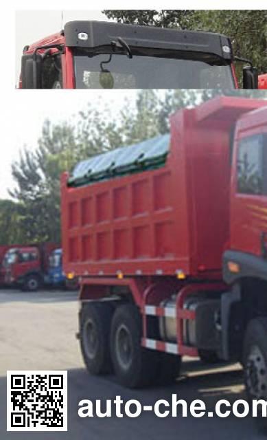 FAW Jiefang CA3250P1K15L1T1E4A80 diesel cabover dump truck