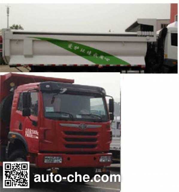 FAW Jiefang CA3250P2K2L3T1E4A80-2 diesel cabover dump truck