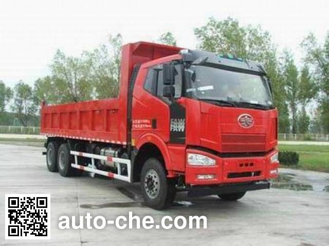 FAW Jiefang CA3250P66K2L4T1AE4 diesel cabover dump truck