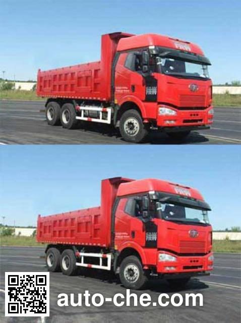 FAW Jiefang CA3250P66K2L2T1A1E5 diesel cabover dump truck