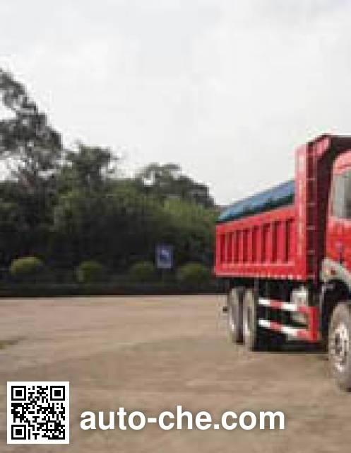 FAW Jiefang CA3251P2K2L3T1E4A80-2 diesel cabover dump truck