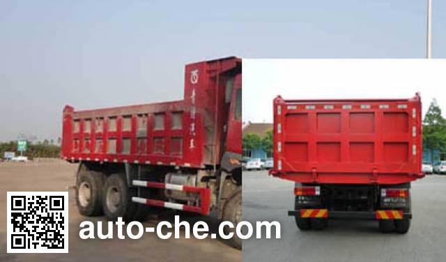 FAW Jiefang CA3252P2K2L4T1E4A80-1 diesel cabover dump truck