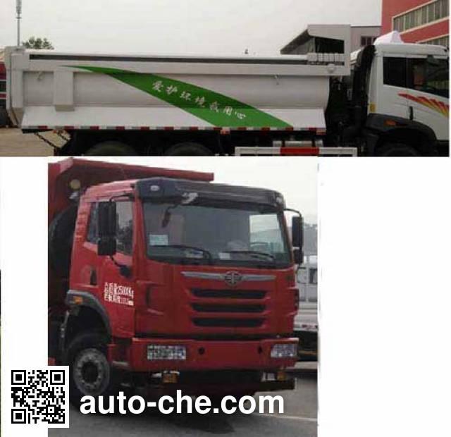 FAW Jiefang CA3251P2K2L4T1E4A80-2 diesel cabover dump truck