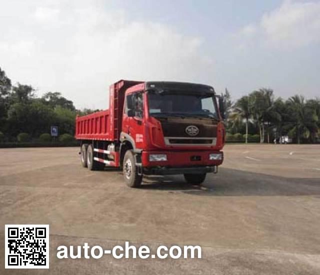 FAW Jiefang CA3250P2K2L4T1E4A80-2 diesel cabover dump truck