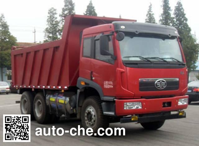 FAW Jiefang CA3256P2K2T1NA80 LNG cabover dump truck