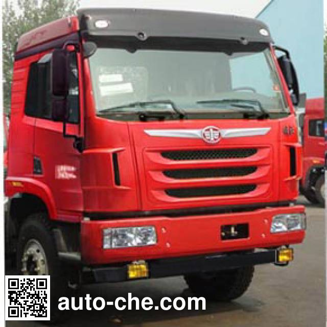 FAW Jiefang CA3256P2K2T1NE5A80 LNG cabover dump truck