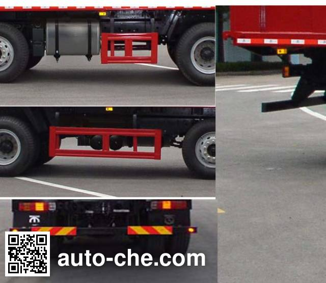 FAW Jiefang CA3310P1K2L4T4E4A80 diesel cabover dump truck