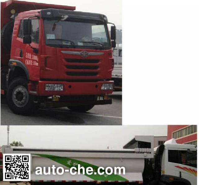 FAW Jiefang CA3310P2K2L2T4E4A80-1 diesel cabover dump truck