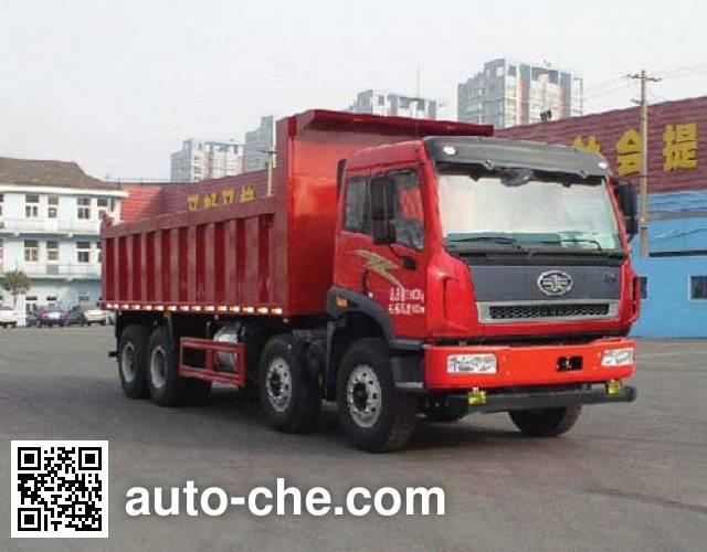 FAW Jiefang CA3310P2K2L1T4E4A80 diesel cabover dump truck