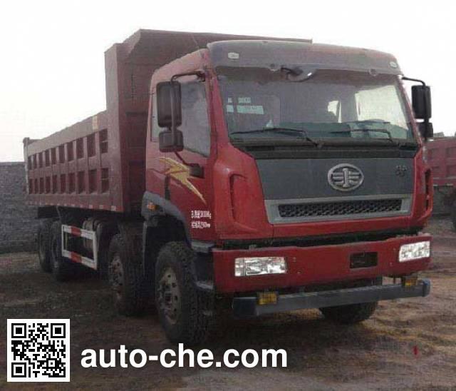 FAW Jiefang CA3310P2K2L2T4E4A80 diesel cabover dump truck