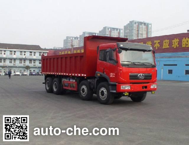 FAW Jiefang CA3310P2K2L4T4NA80 LNG cabover dump truck