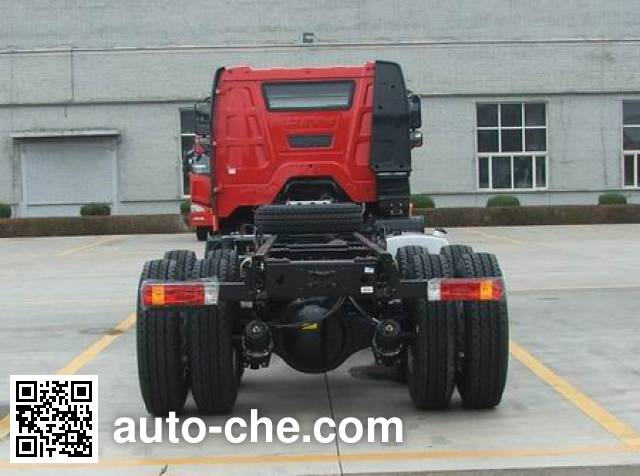 FAW Jiefang CA3310P63K1L2BT4E5 diesel cabover dump truck chassis