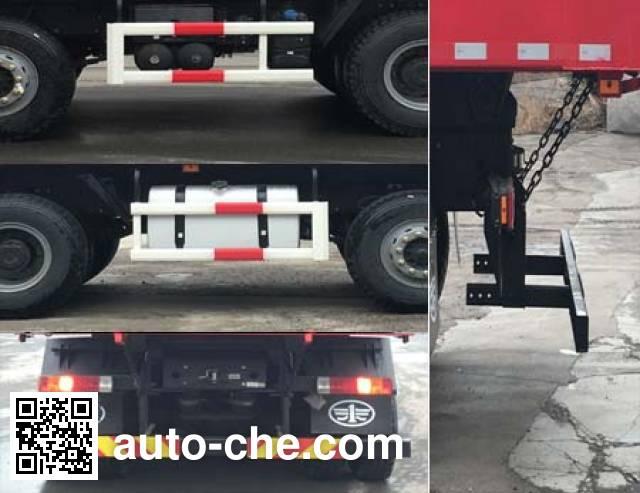 FAW Jiefang CA3310P66K24L2T4E5 diesel cabover dump truck