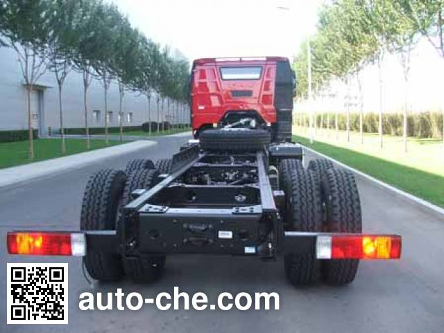 FAW Jiefang CA3310P66K2L4BT4AE5 diesel cabover dump truck chassis