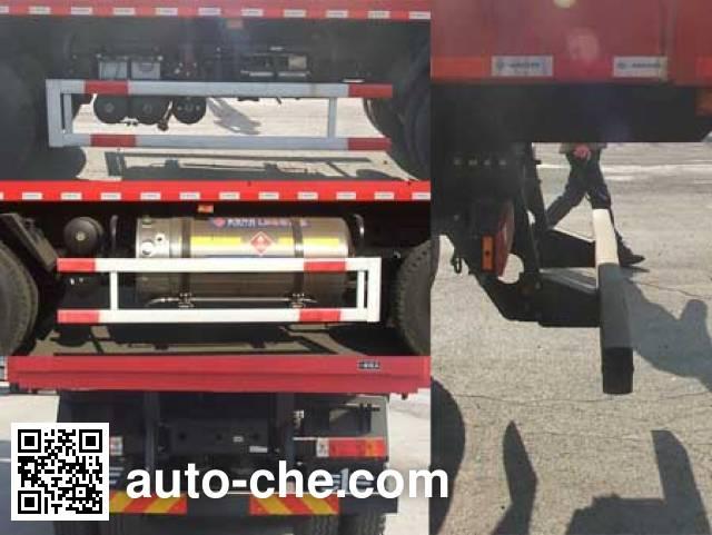 FAW Jiefang CA3310P66L5T4E24M5 natural gas cabover dump truck