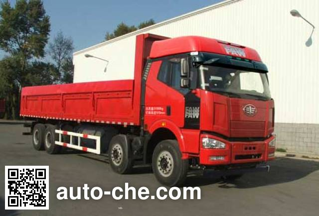 FAW Jiefang CA3310P66L7T4AE22M5 natural gas cabover dump truck