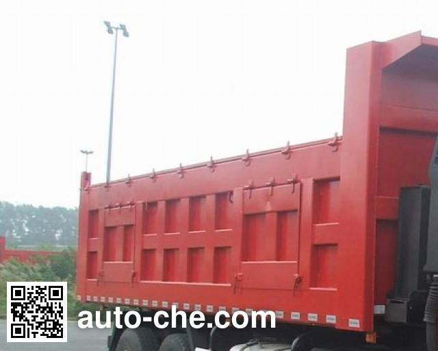 FAW Jiefang CA3250P66T1E24M4 natural gas cabover dump truck