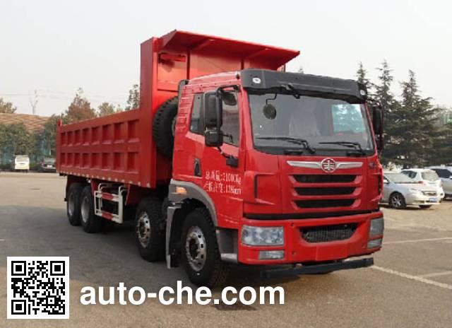 FAW Jiefang CA3312P1K2L2T4E4A80 diesel cabover dump truck