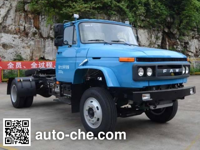 FAW Jiefang CA4141N2E5A95 natural gas tractor unit