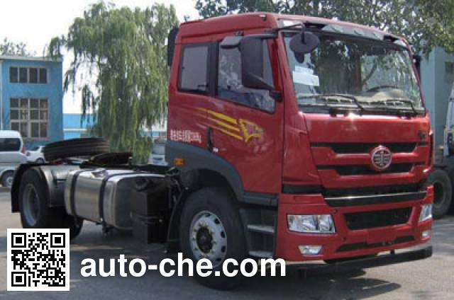 FAW Jiefang CA4143P1K2E4A80 diesel cabover tractor unit
