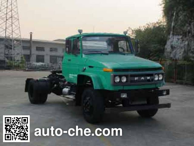 FAW Jiefang CA4180N2E5A90 natural gas tractor unit