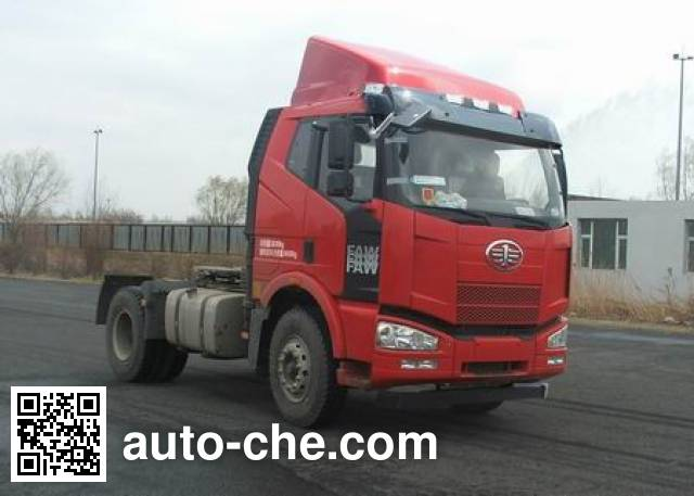 FAW Jiefang CA4180P63K2E4X container transport tractor unit