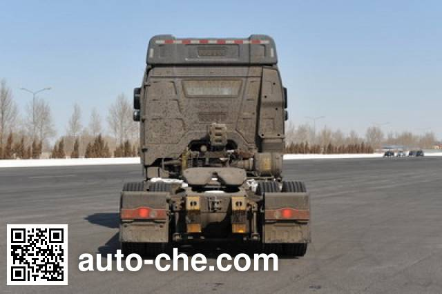 FAW Jiefang CA4180P66K24HE4X container transport tractor unit