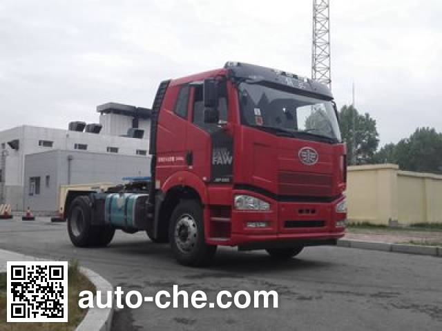 FAW Jiefang CA4180P66K24E5 diesel cabover tractor unit