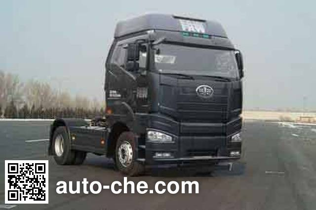 FAW Jiefang CA4180P66K24HE4 diesel cabover tractor unit