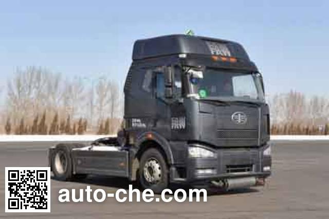 FAW Jiefang CA4180P66K2HE4X dangerous goods transport tractor unit