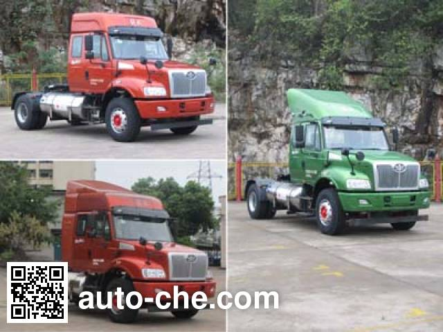 FAW Jiefang CA4182N2E5A90 natural gas tractor unit