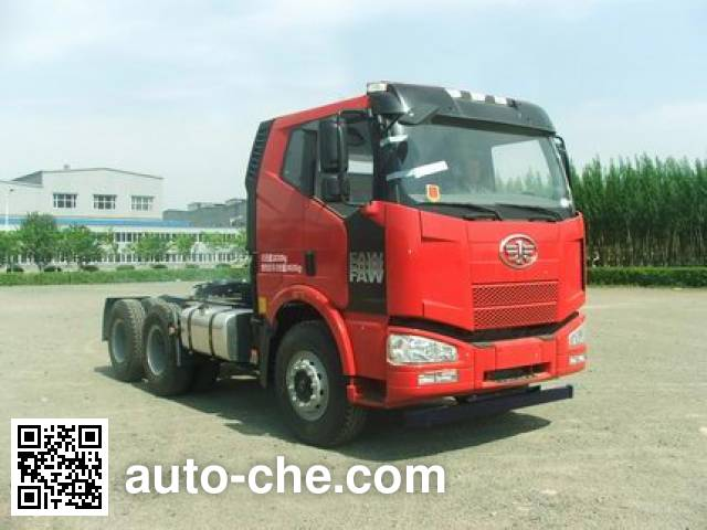 FAW Jiefang CA4250P63K2T1AHXE4 container transport tractor unit