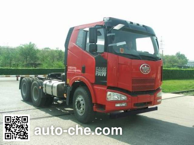 FAW Jiefang CA4250P63K2T1HXE4 container transport tractor unit