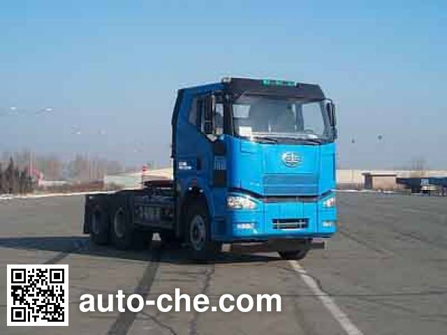 FAW Jiefang CA4250P66K22T1A1E4 diesel cabover tractor unit