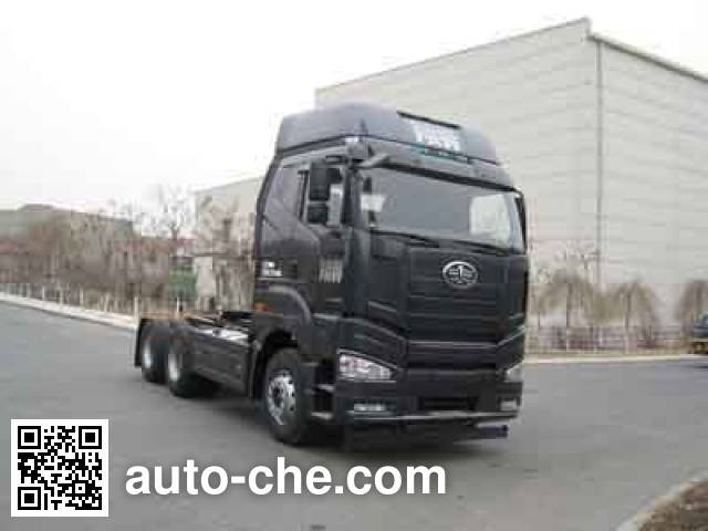 FAW Jiefang CA4250P66K24T1A1E4X container transport tractor unit