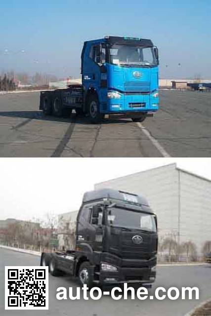 FAW Jiefang CA4250P66K24T1A1E4 diesel cabover tractor unit