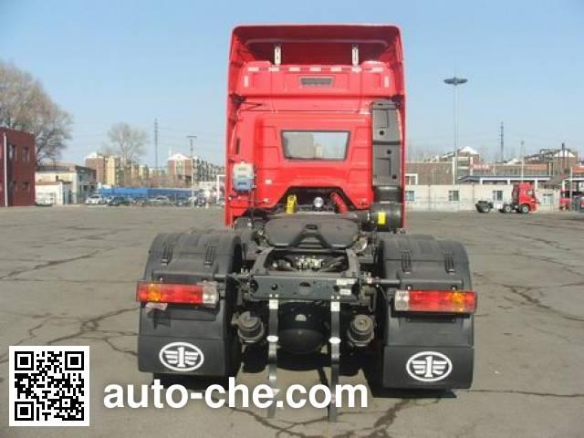 FAW Jiefang CA4250P66K2T1E4Z dangerous goods transport tractor unit