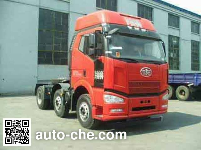 FAW Jiefang CA4250P66K24T3HXE4 container transport tractor unit