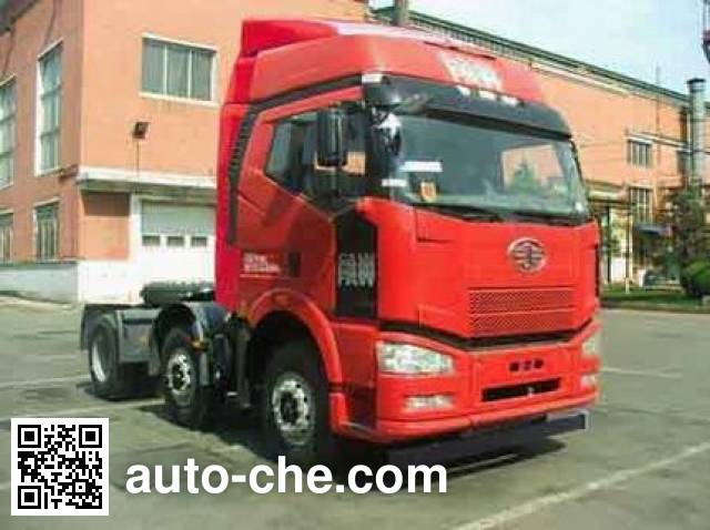 FAW Jiefang CA4250P66K24T3XE4 container transport tractor unit